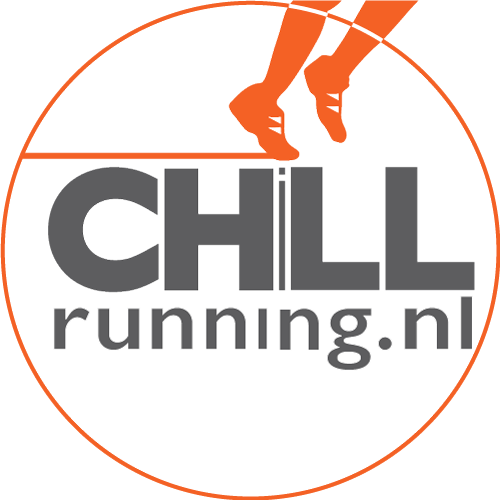 het logo van CHiLLrunning, ontwerp en eigendom van Karen de Bondt.
